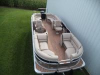 Big pontoon sale at the boat farm! Was $40,416 Now