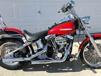 1992 Harley Davidson Softail Custom. This bike has been