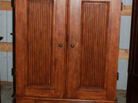 JUST REDUCED from $200: TV / Media Cabinet made of