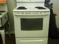 We have reduced the rate on this White Kenmore Electric