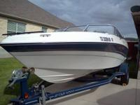 We have a 2004 Four Winns Fish and Ski with trailer for