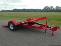 New Design 82x14 Tilt Trailer    Red Color