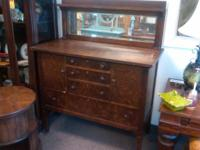This is a lovely 6 generation sideboard/buffet. Made