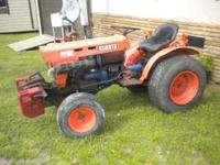 Price Reduced!! I have a B7100 Kubota 4 wheel drive, 3