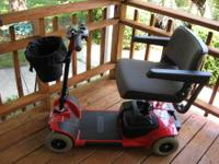 Very nice, excellent condition, Pride Go-Go 4-wheel
