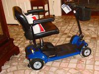 PRIDE GOGO ULTRA X, POWER SCOOTER, 4WHEEL, BLUE,