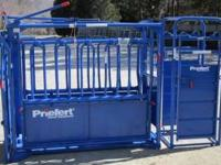 FOR SALE: new Priefert model S0191 squeeze chute and