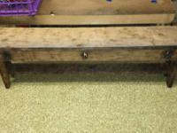 Primitive items benches, shutters, stars, ect..