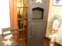 Primitive items for sale!   Primitive Black Hutch.