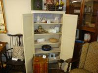Primitive PINE JELLY CUPBOARD  Good Condition  6