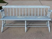 "Awesome, sturdy prim bench. Measurements are: 60"" wide,"