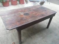 I enjoyed this table in my last home. Was wonderful for