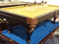 Prince Drake 8' Pool Table. Description:. -Spoon Legs.