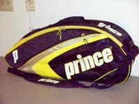 2 PRINCE Triple Tennis Bags For Sale: 1. EX03 REBEL