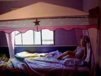 Very cute Princess Bed Canopy. Please text if