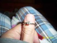 I have a beautiful princess cut diamond ring, its