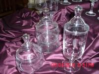 Vintage princess heritage crystal patterns 1 tiered