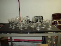 Princess Heritage Wine Glasses 3 Water Goblets 4