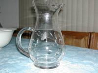 72 Oz Pitcher in the Heritage pattern by Princess House