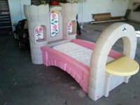 Step 2 Princess Palace bed for sale. This bed is in