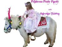 A Fairytale PRINCESS PONY PARTY For your little girls