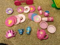 Princess tea set Includes all dishes in picture Pickup