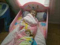 I have a very cute princess toddler bed I need gone..