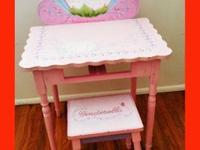 Nice Princess Mirror table & matching chair for little