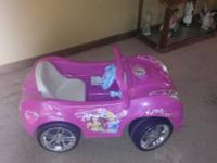 I have a battery powered Princess car that is in