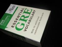 Great study aid for anyone planning to take the GRE!