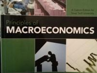 I have a Principles of Macroeconomics textbook for