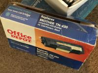 -1- Laser Toner Cartridge TN-430$25Compatible with