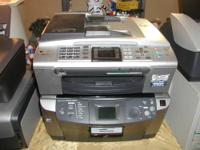 Lot of 7 Printers, various brands and models: HP