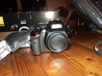 I'm selling my like-new Nikon D5100 DSLR. This is a
