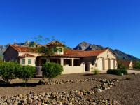 Enjoy Catalina mountain views from this east-facing,
