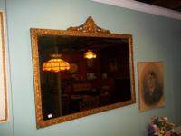 Super great ornate gold frame mirror ... perfect for