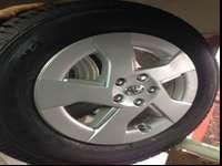 These are brand new. Toyota Prius Wheels, Nitto Snow
