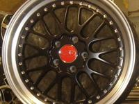 PRIVAT WHEELS WERKS BLACK/MIRROR MACHINED.5 LUG (ZEKE'S