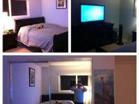 One bed room and personal washroom to be sublet till