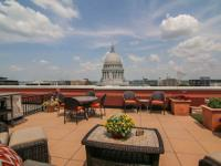 Private Outdoor Terrace Overlooking Capitol Square