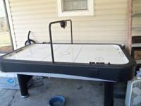 i have a 7 month old air hockey table the lines are
