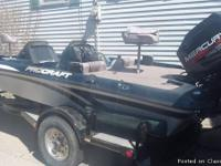 "ProCraft 180 ""Bass Edition"" 18ft. 1998 bass boat."