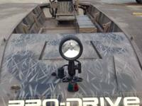 Pro-Drive's exclusive 1848 X-series Boat in Bottomland