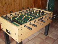 Professional foosball table-MINT CONDITION, USED 5