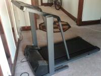 Treadmill in good shape. Incline not working but other