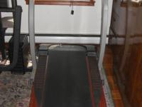 Pro Form 770 EKG Tread Mill. Electronic Console