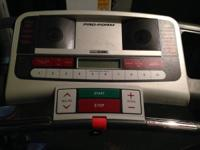 This treadmill is about fours years old and works