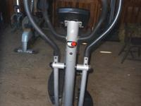 Like new Pro-Form Elliptical. Yours for $50. Showing