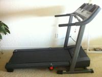 Great treadmill that has hardly been used! This