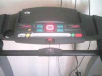 I'm selling my Pro Form LX660 treadmill. Good